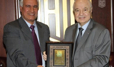The Signing of a Partnership Agreement between Talal Abu-Ghazaleh Organization and Almotahida Education Group.