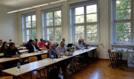 رعاية ملتقى الدولي الأول حول تطوير الأداء المهني لأعضاء هيئة التدريس في الجامعات العربية